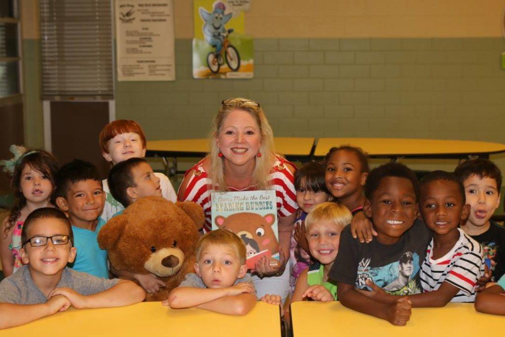 School Visit at Taylor ISD
